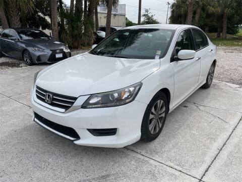 2015 Honda Accord for sale at Florida Fine Cars - West Palm Beach in West Palm Beach FL