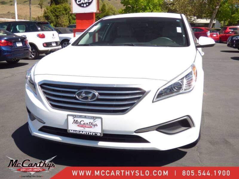 2017 Hyundai Sonata for sale at McCarthy Wholesale in San Luis Obispo CA