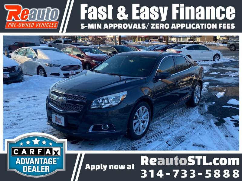 2013 Chevrolet Malibu for sale at Reauto in Saint Louis MO