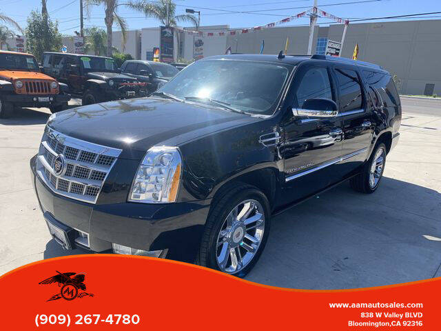 2012 Cadillac Escalade ESV for sale in Bloomington, CA