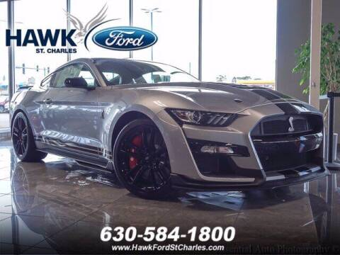 2021 Ford Mustang for sale at Hawk Ford of St. Charles in St Charles IL