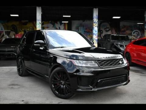 2018 Land Rover Range Rover Sport for sale at ELITE MOTOR CARS OF MIAMI in Miami FL