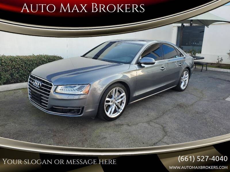 2015 Audi A8 for sale at Auto Max Brokers in Palmdale CA