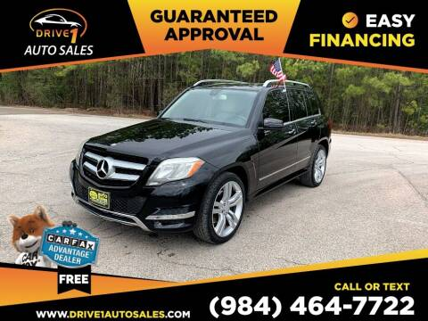 2013 Mercedes-Benz GLK for sale at Drive 1 Auto Sales in Wake Forest NC