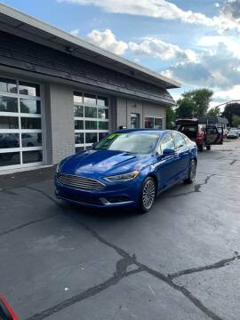 2018 Ford Fusion for sale at Dream Auto Sales in South Milwaukee WI