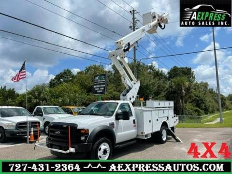2010 Ford F-550 Super Duty for sale at A EXPRESS AUTO SALES INC in Tarpon Springs FL