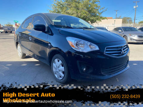 2018 Mitsubishi Mirage G4 for sale at High Desert Auto Wholesale in Albuquerque NM