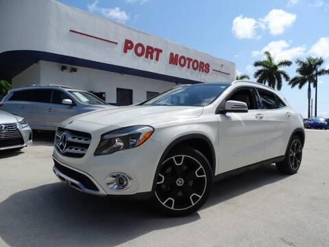 2018 Mercedes-Benz GLA for sale at Port Motors in West Palm Beach FL