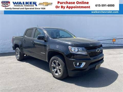 2018 Chevrolet Colorado for sale at WALKER CHEVROLET in Franklin TN