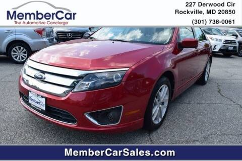 2011 Ford Fusion for sale at MemberCar in Rockville MD