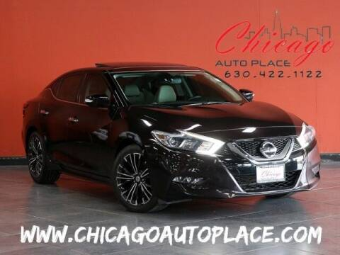 2016 Nissan Maxima for sale at Chicago Auto Place in Bensenville IL