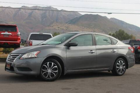 2015 Nissan Sentra for sale at REVOLUTIONARY AUTO in Lindon UT