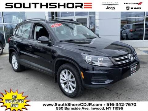 2017 Volkswagen Tiguan for sale at South Shore Chrysler Dodge Jeep Ram in Inwood NY