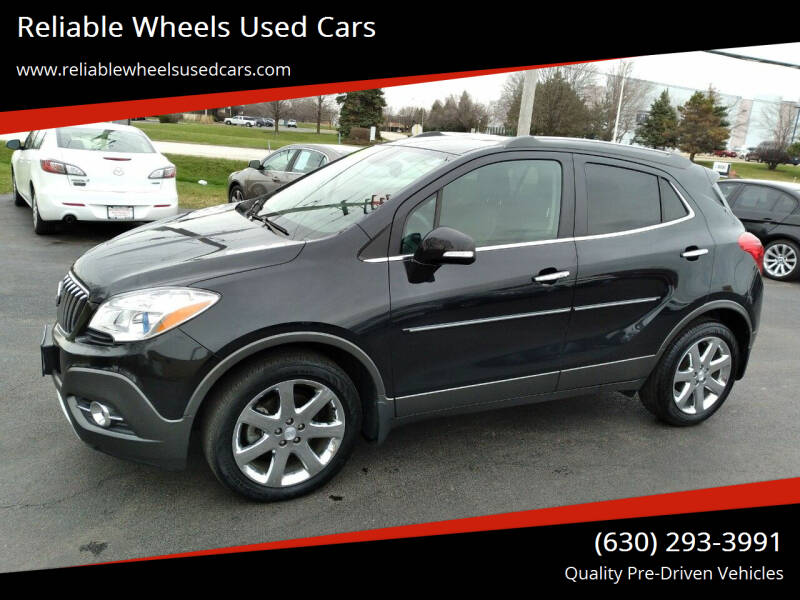 2014 Buick Encore for sale at Reliable Wheels Used Cars in West Chicago IL