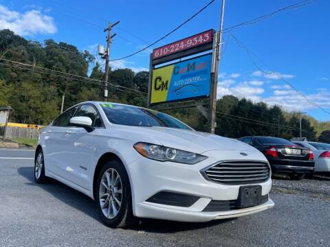 2017 Ford Fusion Hybrid for sale at Walnutport Carmart in Walnutport PA