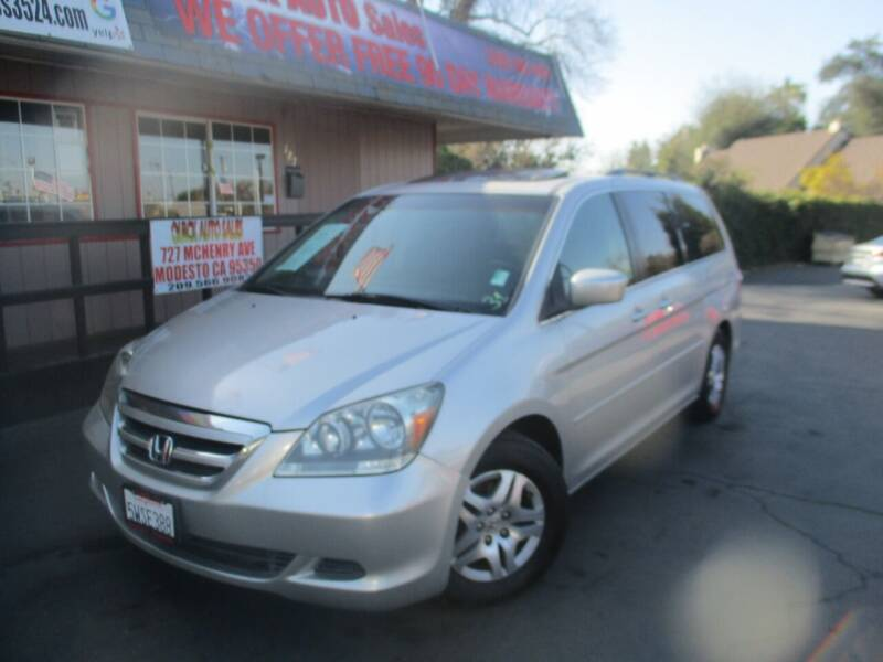 2007 Honda Odyssey for sale at Quick Auto Sales in Modesto CA
