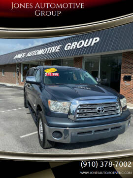 2009 Toyota Tundra for sale at Jones Automotive Group in Jacksonville NC
