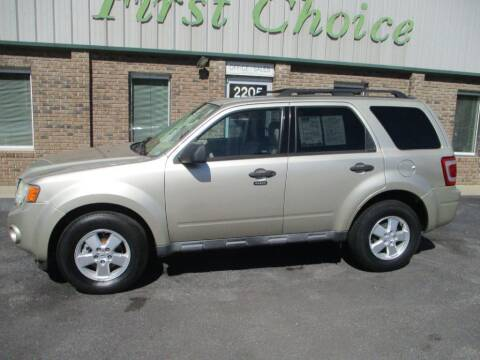 2010 Ford Escape for sale at First Choice Auto in Greenville SC