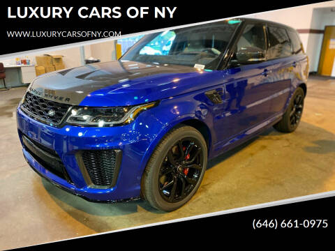 2020 Land Rover Range Rover Sport for sale at LUXURY CARS OF NY in Queens NY