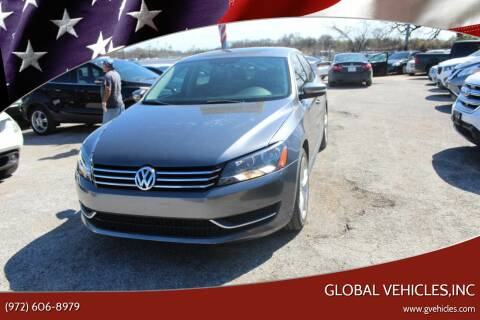 2015 Volkswagen Passat for sale at Global Vehicles,Inc in Irving TX