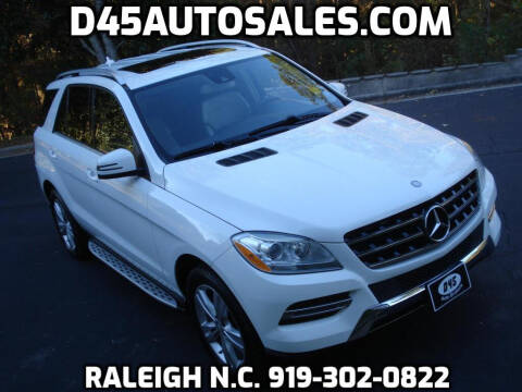2014 Mercedes-Benz M-Class for sale at D45 Auto Brokers in Raleigh NC