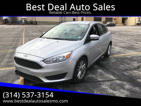 2016 Ford Focus for sale at Best Deal Auto Sales in Saint Charles MO