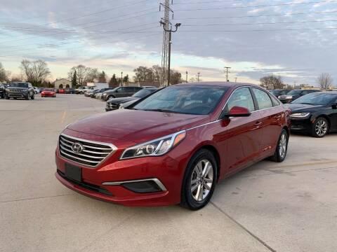 2016 Hyundai Sonata for sale at Crooza in Dearborn MI