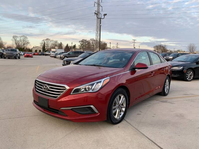 2016 Hyundai Sonata for sale at Crooza in Dearborn MI