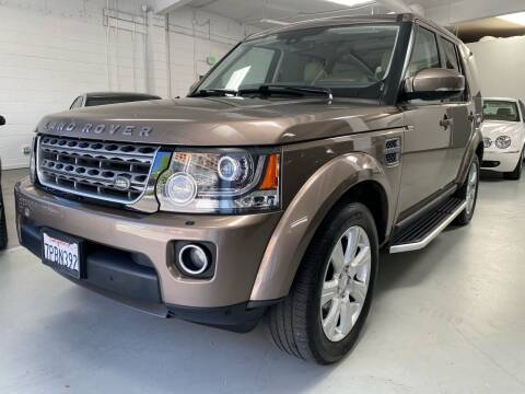 2016 Land Rover LR4 for sale at Mag Motor Company in Walnut Creek CA