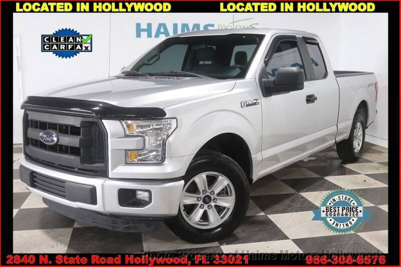 2015 Ford F-150 for sale in Hollywood, FL