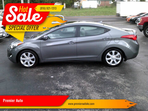 2013 Hyundai Elantra for sale at Premier Auto in Independence MO