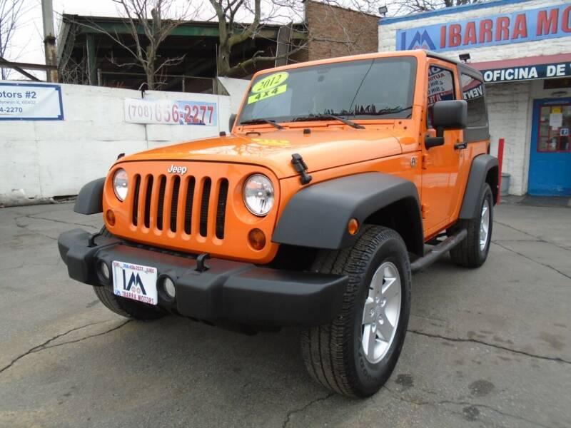 2012 Jeep Wrangler for sale at IBARRA MOTORS INC in Cicero IL