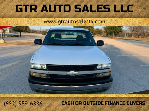 2002 Chevrolet Silverado 1500 for sale at GTR Auto Sales LLC in Haltom City TX