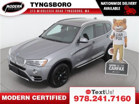 2017 BMW X3 for sale at Modern Auto Sales in Tyngsboro MA