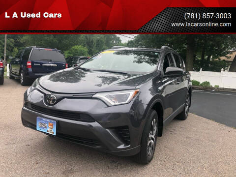 2018 Toyota RAV4 for sale at L A Used Cars in Abington MA