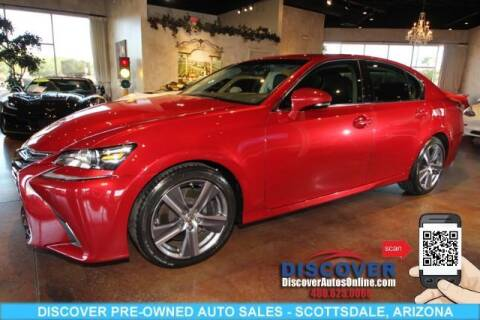 2017 Lexus GS 350 for sale at Discover Pre-Owned Auto Sales in Scottsdale AZ