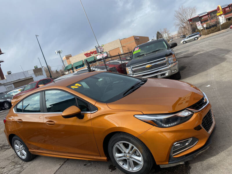 2017 Chevrolet Cruze for sale at Sanaa Auto Sales LLC in Denver CO