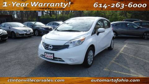 2015 Nissan Versa Note for sale at Clintonville Car Sales - AutoMart of Ohio in Columbus OH