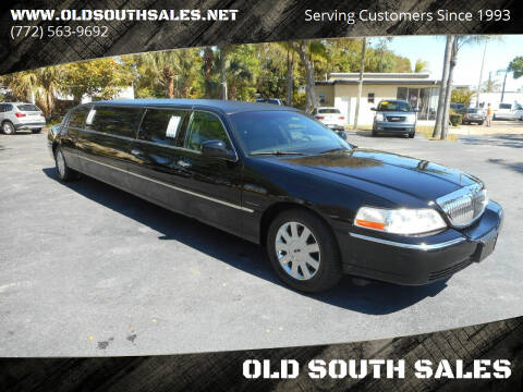 2006 Lincoln Town Car for sale at OLD SOUTH SALES in Vero Beach FL