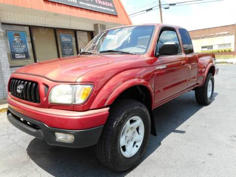 2002 Toyota Tacoma for sale at Super Sports & Imports in Jonesville NC