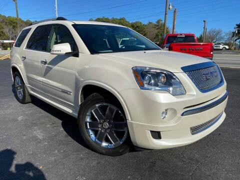2012 GMC Acadia for sale at Lux Auto in Lawrenceville GA