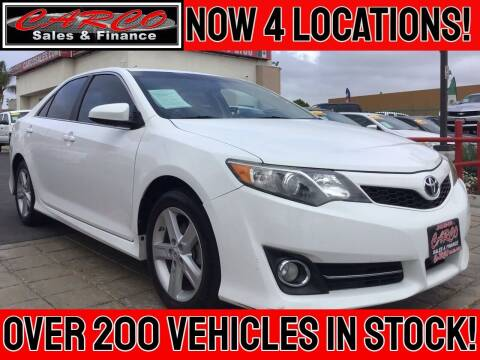 2012 Toyota Camry for sale at CARCO SALES & FINANCE in Chula Vista CA