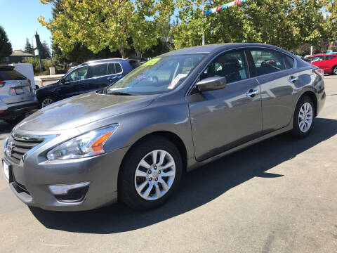 2015 Nissan Altima for sale at Autos Wholesale in Hayward CA