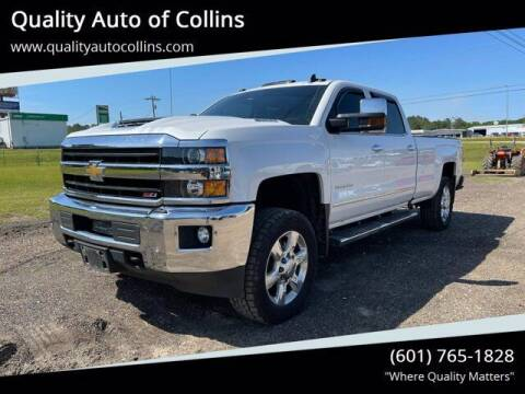 2018 Chevrolet Silverado 2500HD for sale at Quality Auto of Collins in Collins MS