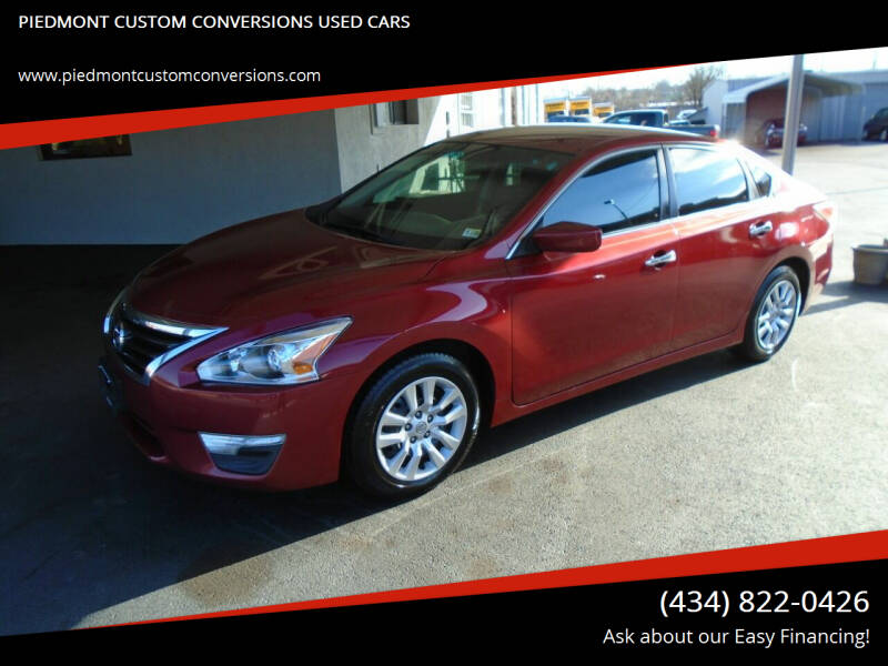 2014 Nissan Altima for sale at PIEDMONT CUSTOM CONVERSIONS USED CARS in Danville VA