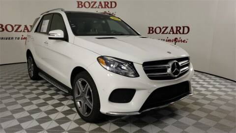 2018 Mercedes-Benz GLE for sale at BOZARD FORD in Saint Augustine FL