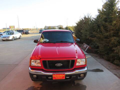 2005 Ford Ranger for sale at Grey Goose Motors in Pierre SD
