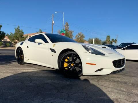2011 Ferrari California for sale at Boktor Motors in Las Vegas NV