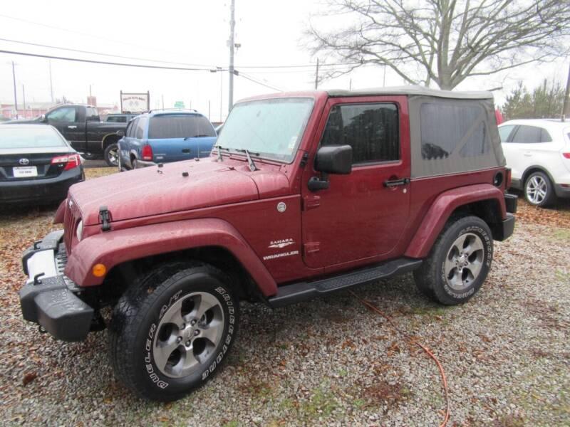 2010 Jeep Wrangler for sale at Dallas Auto Mart in Dallas GA