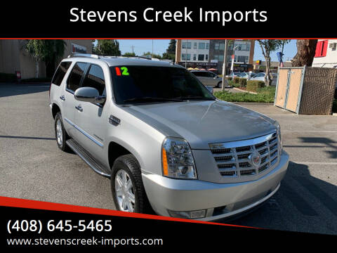 2012 Cadillac Escalade for sale at Stevens Creek Imports in San Jose CA